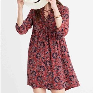 Madewell Assam Floral Dress